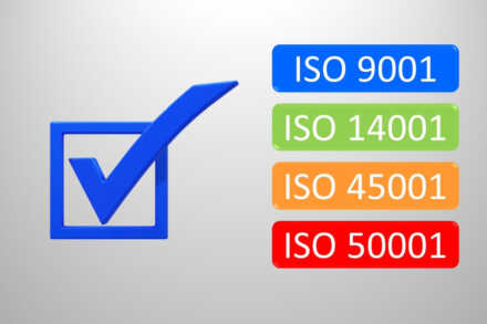 Interní auditor ISO 9001, ISO 14001, ISO 45001 a ISO 50001