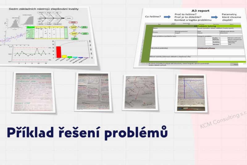Příklad způsobů řešení problémů